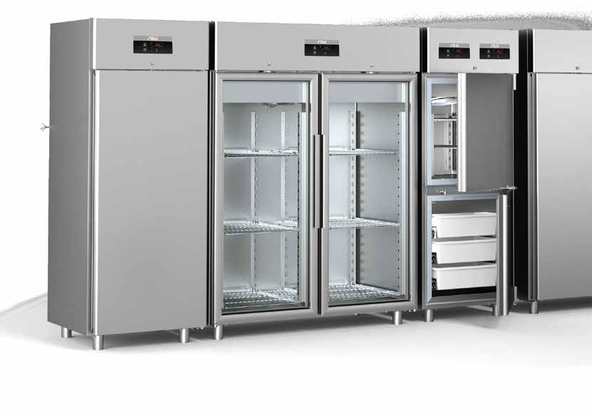 Gastro Kühlgeräte und Tiefkühlschränke: Kühlvitrinen für Hotels ... | {Tiefkühlschränke 28}